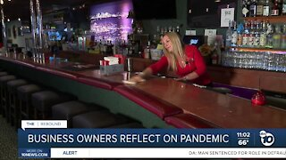 Business owners reflect on pandemic
