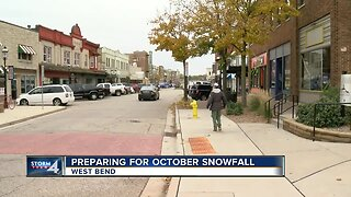 West Bend prepares for first snowfall of the season