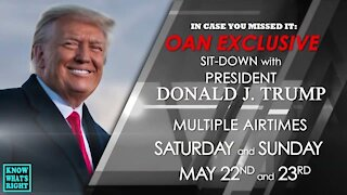 PRESIDENT TRUMP EXCLUSIVE INTERVIEW ON OAN WITH CHANEL RION