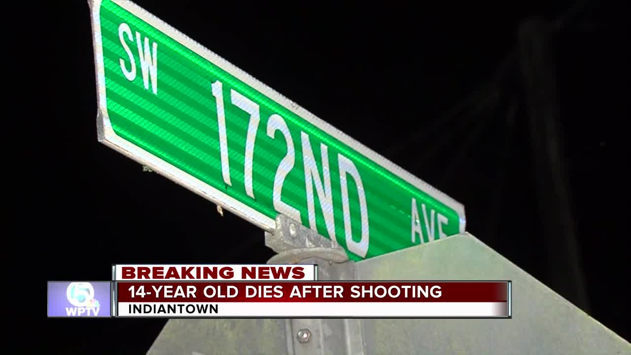14-year-old shot and killed by teenage friend in Indiantown