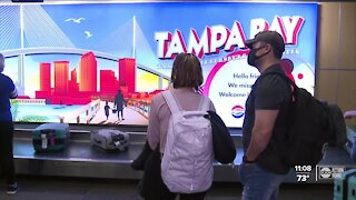 Tampa International Airport expects an increase in travelers during spring break