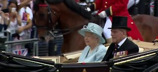 Queen Elizabeth II's husband, Prince Philip, admitted to hospital