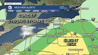 7 First Alert Forecast 11 p.m. Update, Saturday, June 12
