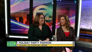 Holiday Party Fashion: Casual to Cocktail