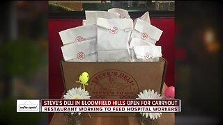 Steve's Deli in Bloomfield Hills open for carryout
