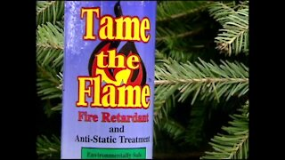 Preventing Christmas tree fires this holiday season (12/11/03)