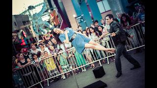 Michael Grandinetti - SURROUNDED LEVITATION at Universal Studios Hollywood