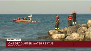 Two teens, one adult pulled from Lake Michigan at McKinley Beach Saturday night
