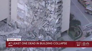 At least 1 dead after partial condo building collapse near Miami Beach