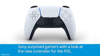 Sony Debuts PlayStation 5 Controller