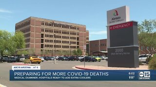 Medical examiner, hospitals prepare for more deaths