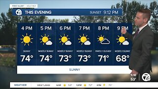 Metro Detroit Forecast: Another cool and comfortable day