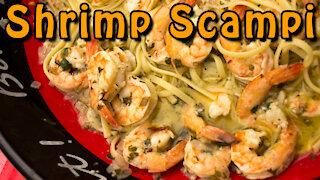 Dutch Oven Shrimp Scampi