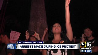 16 arrested in downtown Phoenix protest Friday night