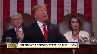 President Trump gives second State of the Union address