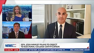 SEN, JOH HAWLEY PLANS TO OBJECT TO ELECTORAL COLLEGE CERTIFICATION