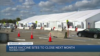 Palm Beach County prepares to rollout 3 mobile vaccine units, close mass sites