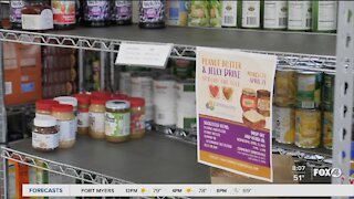 Community peanut butter and jelly drive to feed the hungry