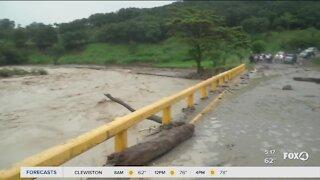 Hurricane Iota causes damage and flooding in Honduras