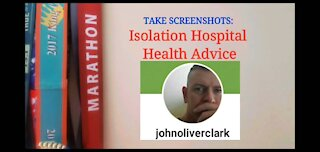 Isolation Hospital Health Advice