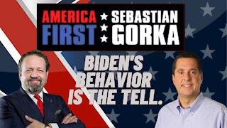 Biden's behavior is the tell. Rep. Devin Nunes with Sebastian Gorka on AMERICA First