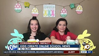 Kids create online school news
