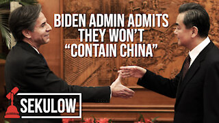"Biden Admin Admits They Won't ""Contain China"""