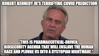 ROBERT KENNEDY JR'S TERRIFYING MESSAGE ON COVID AND THE VACCINE