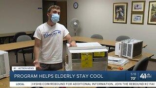 Program helps elderly stay cool