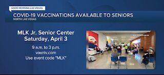 Vaccines, gift cards to be offered in North Las Vegas on April 3