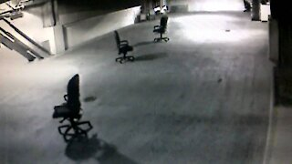 Mysterious moving chairs