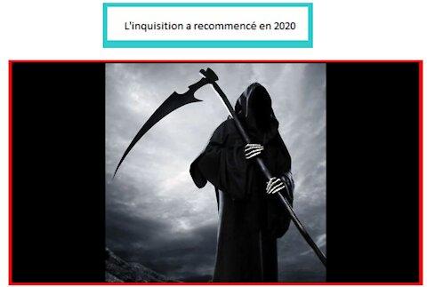 L'inquisition a recommencé en 2020