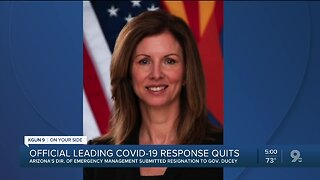 Leader of Arizona's response to the COVID-19 pandemic quits