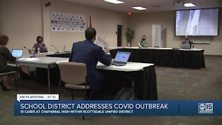 Scottsdale school district addresses COVID outbreak