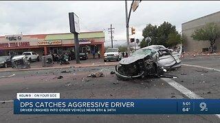 AZDPS responds to three-vehicle crash near I-10 and 6th avenue