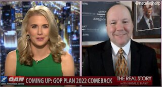 The Real Story - OANN Targeting Trump with Ted Harvey