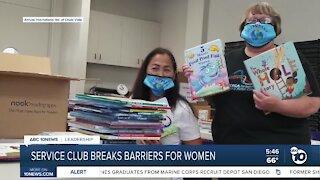 Service club breaks barriers for women