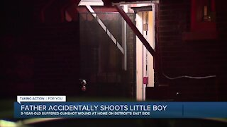 Father accidentally shoots 9-year-old son