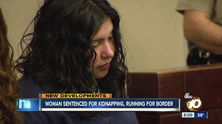 Woman who stole car with children inside sentenced to prison