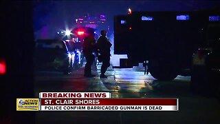 Police Standoff Ends, Suspect Dead