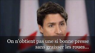 Justin Trudeau offre 595 MILLIONS $ aux médias
