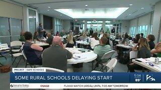 Some rural schools delaying start