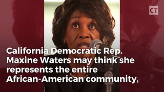 Black Christian Leaders Take Action Against Maxine Waters for Her 'Call to Extremism'
