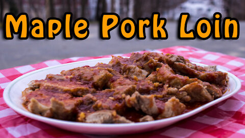 Dutch Oven Maple Pork Loin Roast