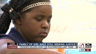 Family of girl shot still seeking justice