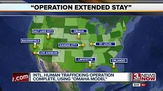 Nationwide human trafficking bust successful