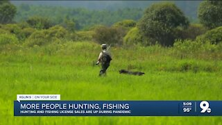 More people hunting and fishing