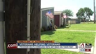 Veterans Community Project building 13 houses