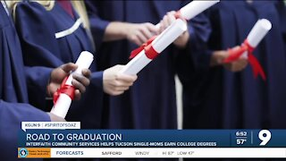 Program helps single mothers continue education