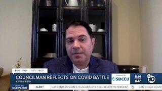 Chula Vista city councilman reflects on COVID-19 battle